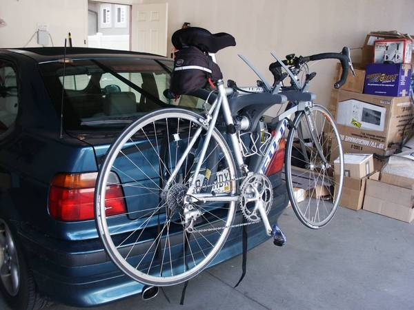 Saris Bones 2 Bike Rack Installed With Bike Photo